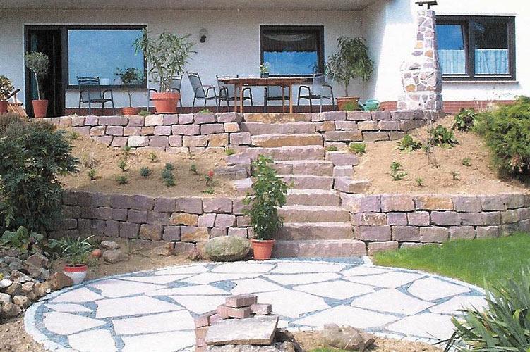 Blumenstein Garten Und Landschaftsbau Terrassen Naturstein